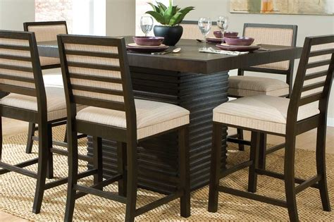 desk height for 6 2 homelegance miles counter height dining set dark