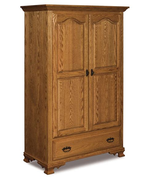 furniture armoire wardrobe hoosier heritage wardrobe armoire amish direct furniture