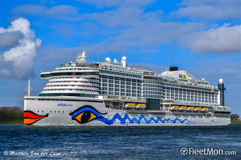 Schiffsdaten Aida Prima by Cruise Liner Aidaprima On Again Third In A Month
