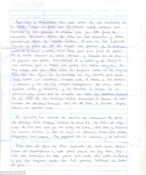 up letter to someone joran der sloot savagely stabbed by fellow inmates