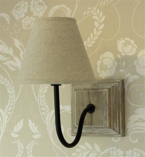 cream wall l light shabby vintage cottage chic linen