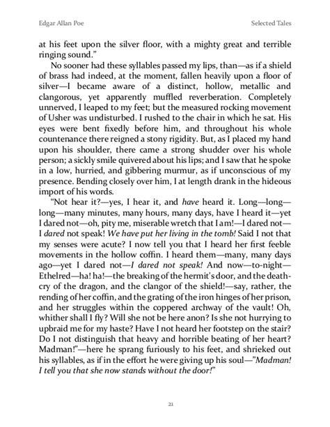 Edgar Allan Poe - Selected Tales 1
