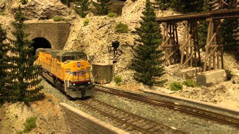 youtube h0 layout wonderful us model railroad layout in ho scale youtube