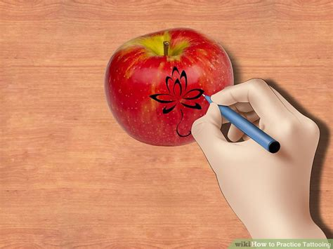 what to practice tattooing on 3 ways to practice tattooing wikihow