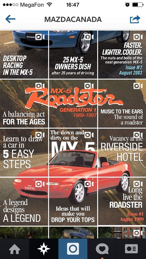 design history instagram mazda canada intriguing followers on instagram with