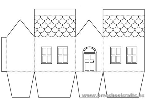 house projects free house projects free templates for kids preschool crafts