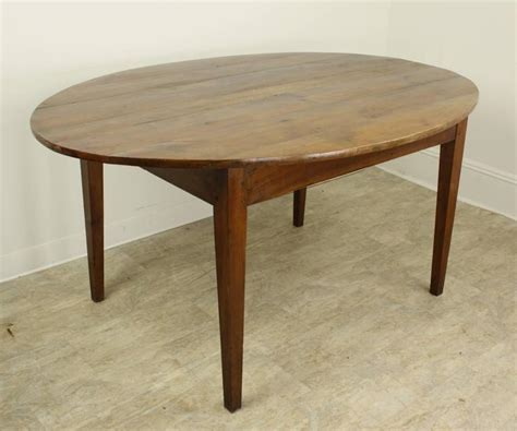 Oval Dining Tables For Sale Antique Oval Cherry Dining Table For Sale At 1stdibs
