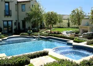 pool landscape design ams landscape design studios mediterranean pool los angeles by ams landscape design