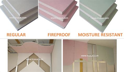 12 5mm Thickness Standard Plasterboard Drywall With