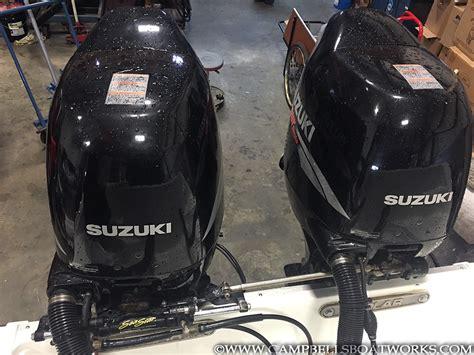 Used Suzuki 140 Outboard For Sale 23 Polar Walk Around Boat Cbell S Boat Works Inc