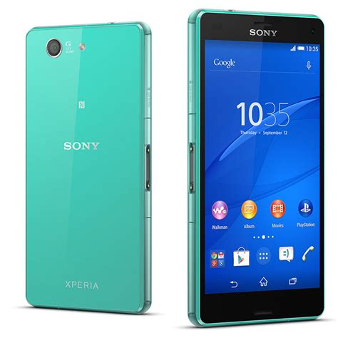 sony xperia z3 compact vert mobile smartphone sony sur ldlc