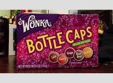 Willy Wonka Candy - Fizzy Bottle Caps Review - YouTube Now And Later Candy Flavors