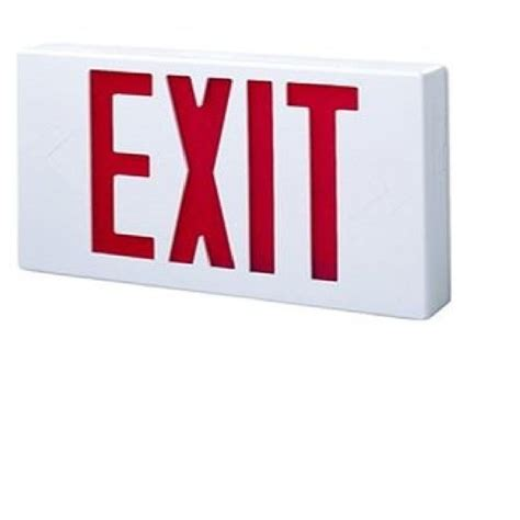 exit sign light box commercial lighting lighting ceiling fans the home depot