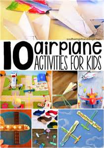 10 airplane activities for kids from mom s desk