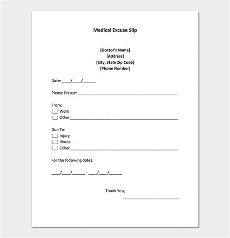 40 Fake Doctors Note Template Download Pdf Doc Patient Doctor S Note Template