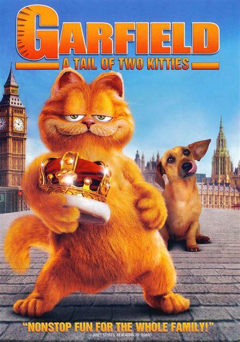 film cartoon garfield garfield 2 movie poster favorite movies pinterest