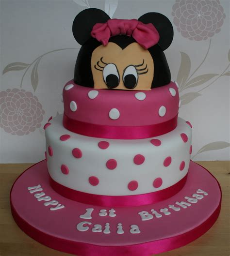 minnie mouse cakes decoration ideas birthday cakes