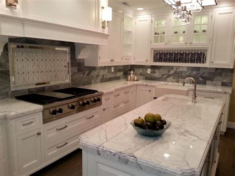 types of backsplash 7 most popular types of kitchen countertops materials