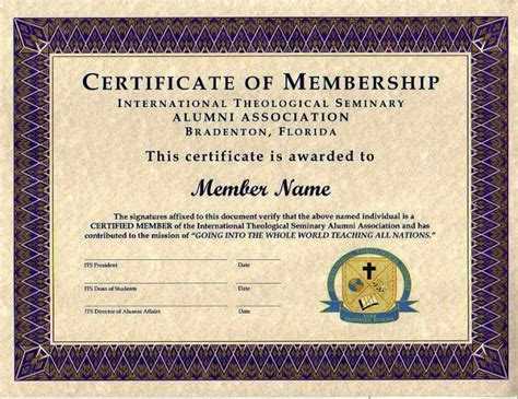 membership certificates templates purple certificate membership template jpg 700 215 540