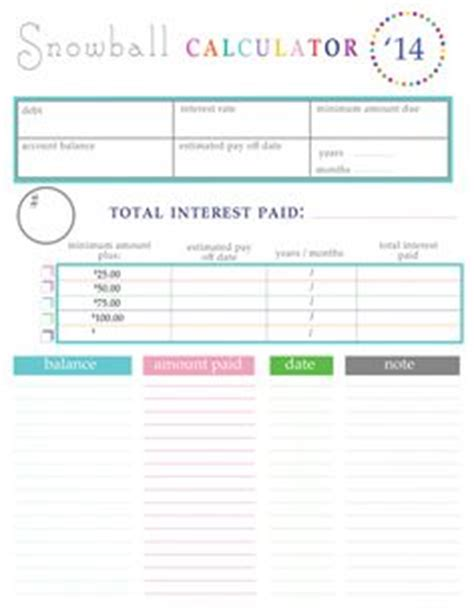 Suze Orman Spreadsheet by Pay Debt On Debt Snowball Debt Payoff And