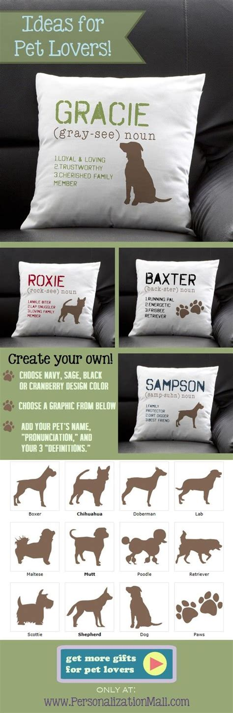 define cusion definition of my dog personalized pillow