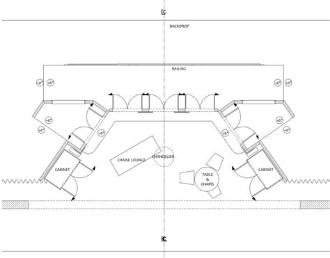 lighting floor plan a process for designing lighting for the stage