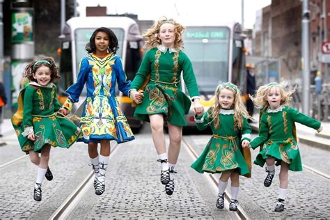 st s day in ireland images record crowds predicted for st s day parade breakingnews ie