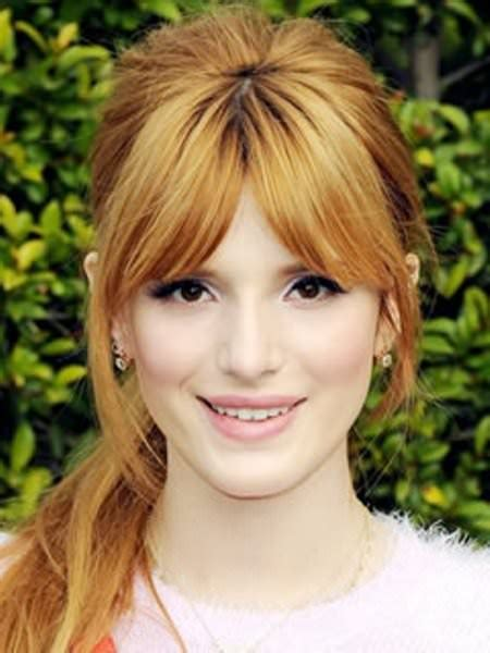 different hairstyles for round face 20 different bangs for round faces