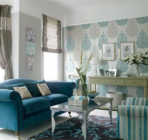 Turquoise Living Room Curtains Designs 22 Ideas To Use Turquoise Blue Color For Modern Interior Design And Decor