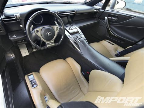Lexus Lfa Interior by Fast Five Lexus Lfa Interior Photo 39
