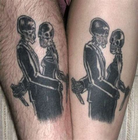 tattoo lovers photos 30 smashing matching tattoos for couples creativefan