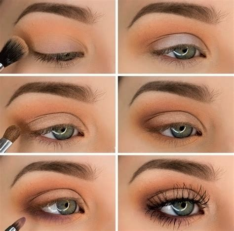simple eyeshadow ideas step by step step by step eye makeup ideas for blue eyes in trends 2016