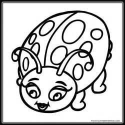 ladybug coloring page free download