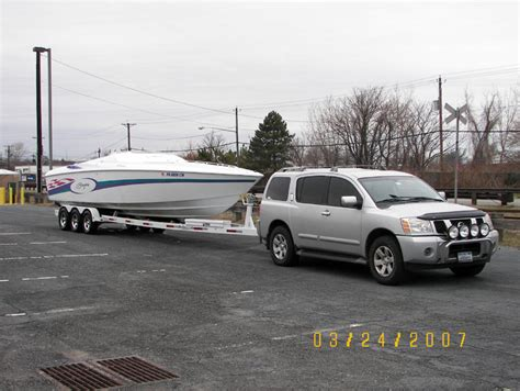 pathfinder boats problems 4500 boat tow vehicle nissan titan or duramax page 3