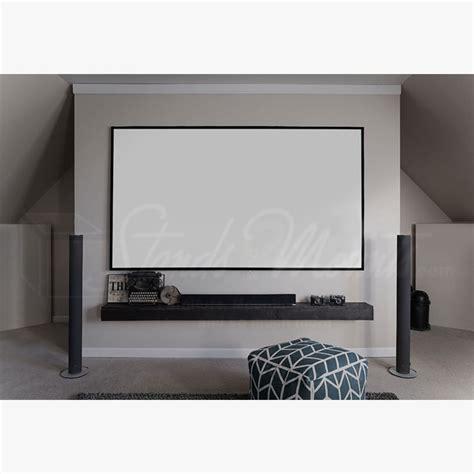 Fixed Frame Screen 84 Inci elite screens edge free aeon fixed frame projection screen