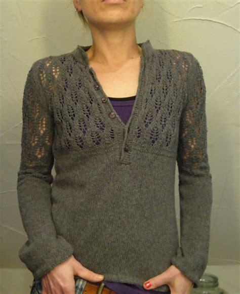 knitting pattern henley sweater ravelry lilalu s henley perfected knitting patterns