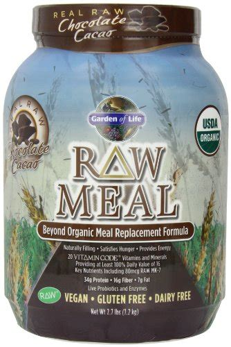 Garden Of Organic Meal Chocolate by Garden Of Organic Meal Chocolate 2 7lbs 1 2kg