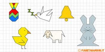 cornici per quaderni a quadretti cornicette di pasqua a quadretti da disegnare e colorare