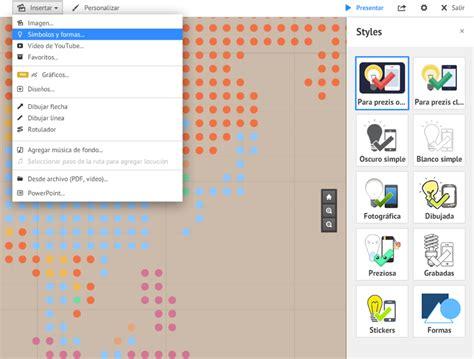 imagenes y simbolos prezi prezi como insertar archivos multimedia parte 4