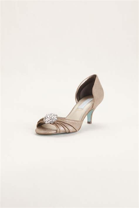 blue by betsey johnson high heel peep toe wedding bridesmaid shoes blue by betsey johnson low heel