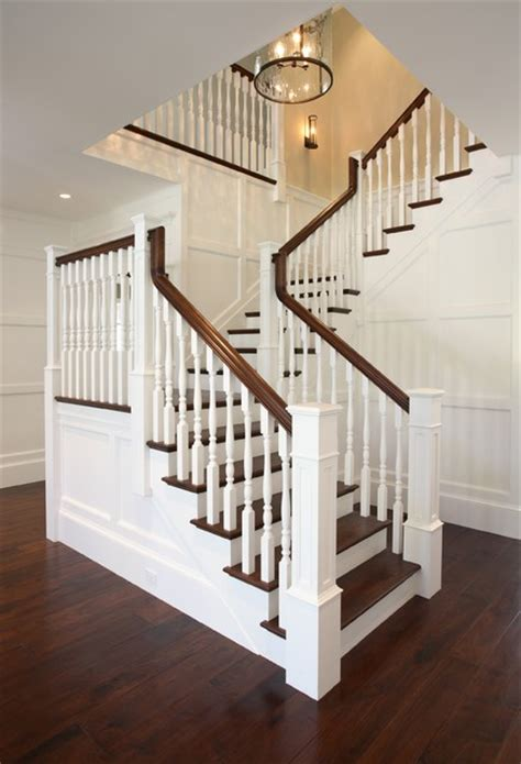 traditional staircases atherton california luxury home by markay johnson