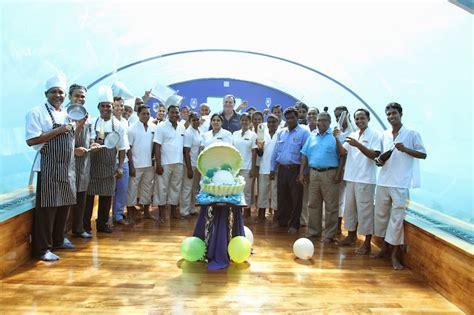 ithaa undersea restaurant ithaa undersea restaurant celebrates 10th anniversary