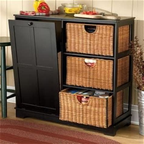 free standing trash can cabinet diy wooden tilt trash bin plans woodworking projects plans