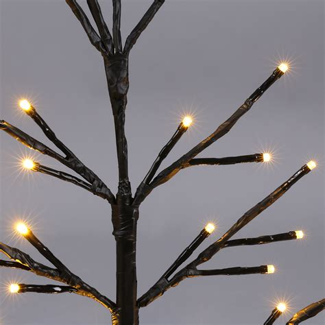 2ft 51 led twig branch light desk table l christmas