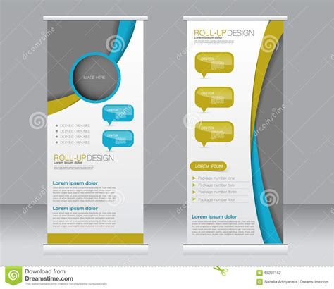 roll up stand design templates cloud rollups popups exhibition rollup banner rollups