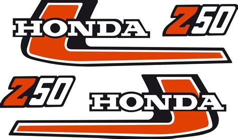 Aufkleber Honda Monkey by Honda Monkey Z50 Irace Design