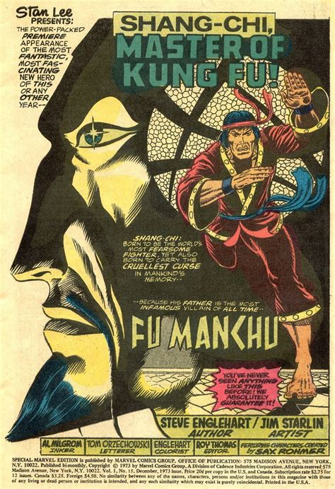 shang chi master of kung fu the great comic book heroes master of kung fu a bronze age classic