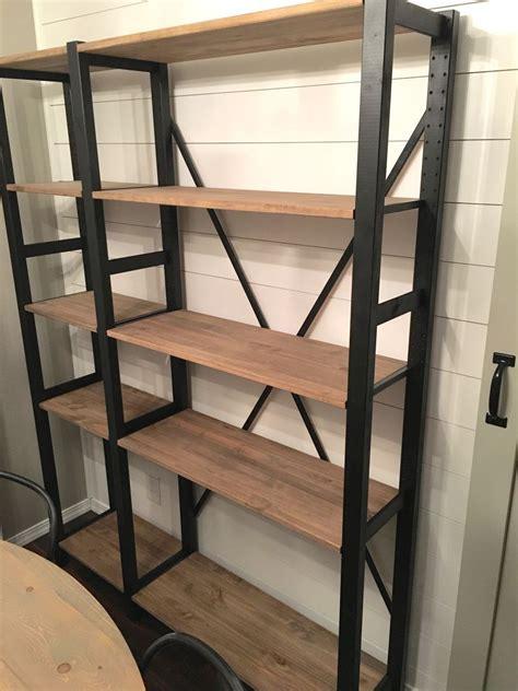 ikea bookshelf hack my divine home ikea ivar hack industrial shelving unit