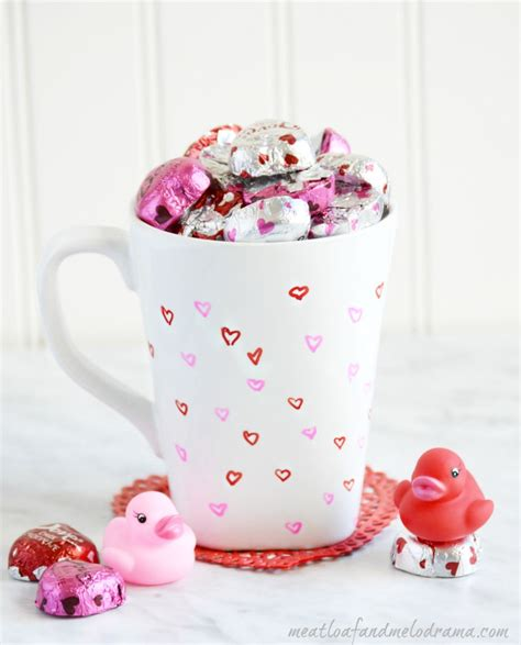 valentines day cups diy in a mug s day gift meatloaf and