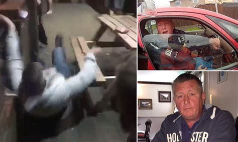 16 go yurt cing punching moments in the face ronnie pickering floored with a single punch outside pub